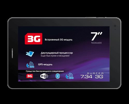 Explay Surfer 7.34 3G ремонт